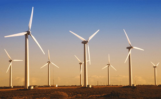 Wind power to energy